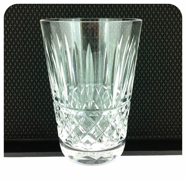 Waterford Crystal Glasses Tramore Design - Set 6 x 5oz Tumblers - Signed Waterford Crystal Tramore Pattern. 1980s  Wickstead Wicksteads TeaJay