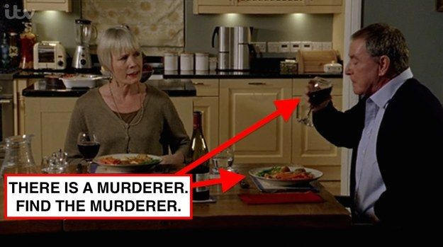 """Why have you stopped to have some dinner and a nice glass of wine? MULTIPLE PEOPLE HAVE DIED. 