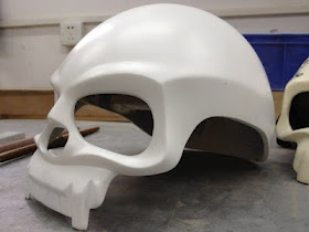 2012 DOT approved skull helmet! I can see myself in this.... after I paint it green and put sparkles on it....