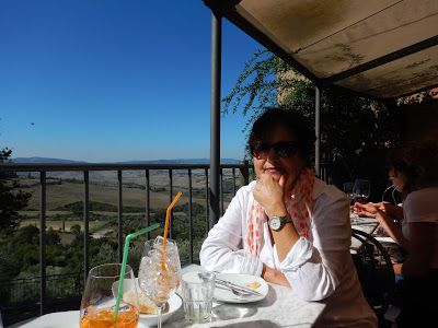 Giglio Cooking School: An Over-flight View on Val D' Orcia