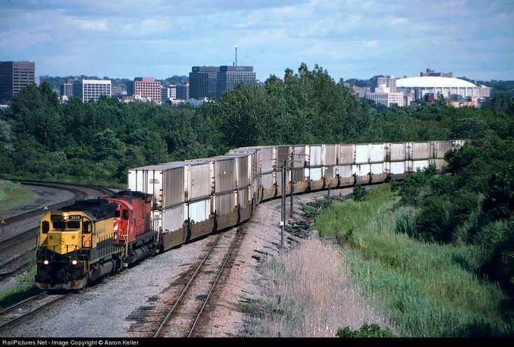 RailPictures.Net Photo: NYSW 3614 New York, Susquehanna & Western (NYS&W) EMD SD45 at Solvay, New York by Aaron Keller