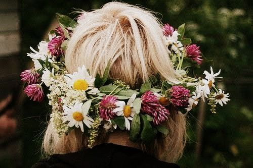 Midsommar Flowercrown Celebration Sweden