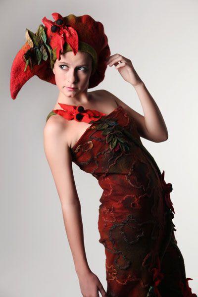 Lorraine McArthur, The Blood Flower 2 . Photographer Michael Kelly, Star Creations
