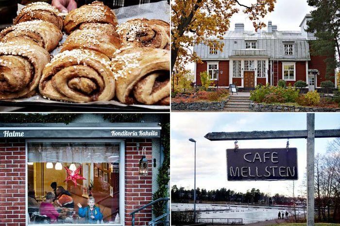 Erikoiskahveja, itse tehtyjä leivonnaisia, lounaita ja kaupan päälle vielä ohjelmailtoja tai näyttelyitä – tätä kaikkea löytyy jo Espoon kahviloista. Kaupungin kahvilatarjonta on viime vuosina kasvanut ja monipuolistunut ilahduttavasti.