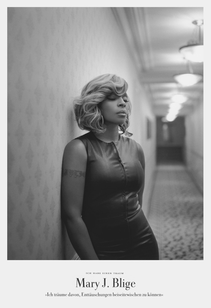 Mary J. Blige - she's one of my fave's. Such an inspiration.