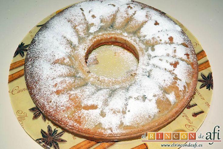 Chestnut cake - Bizcocho de castañas