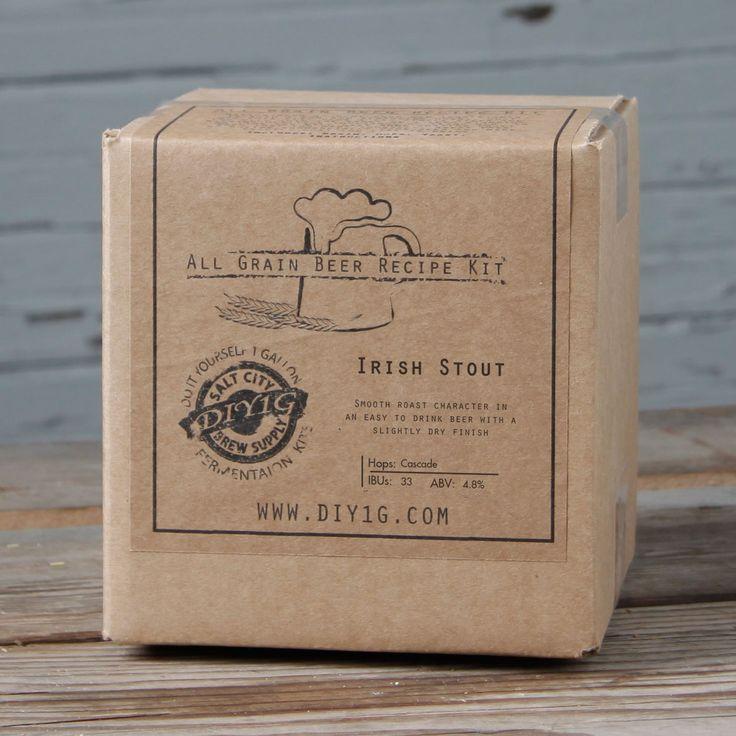 City DIY 1-gallon Dry Stout Recipe Kit