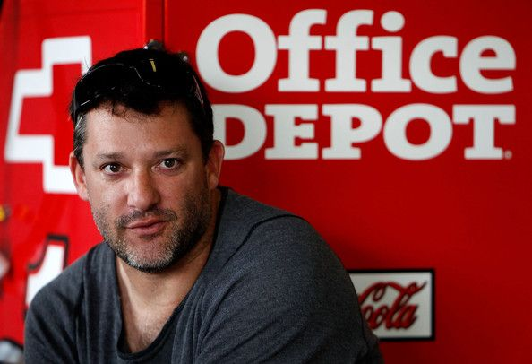 Tony Stewart | Tony Stewart Tony Stewart, driver of the #14 Office Depot/Mobil 1 ...
