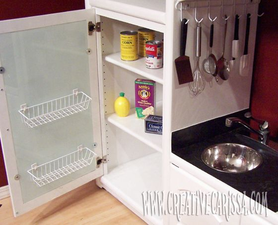 How To Make A DIY Play Kitchen Part 2: How To Make The Refrigerator ~