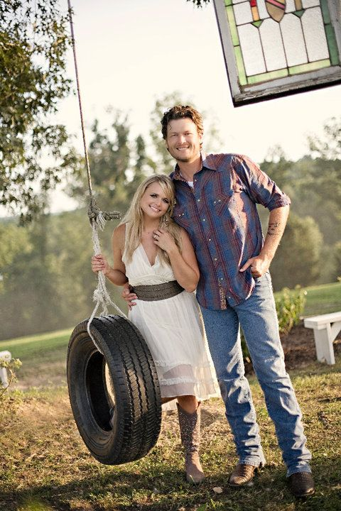 Miranda Lambert and Blake Shelton  - The Kerosene Queen and her Whiskey Man