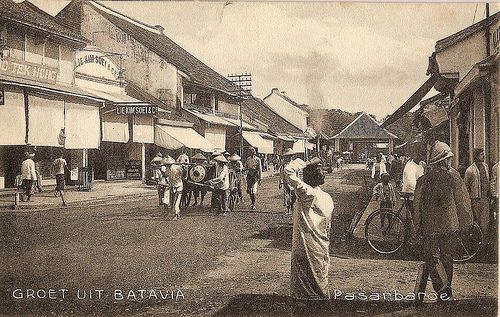 Pasar Baroe (Batavia), 1909