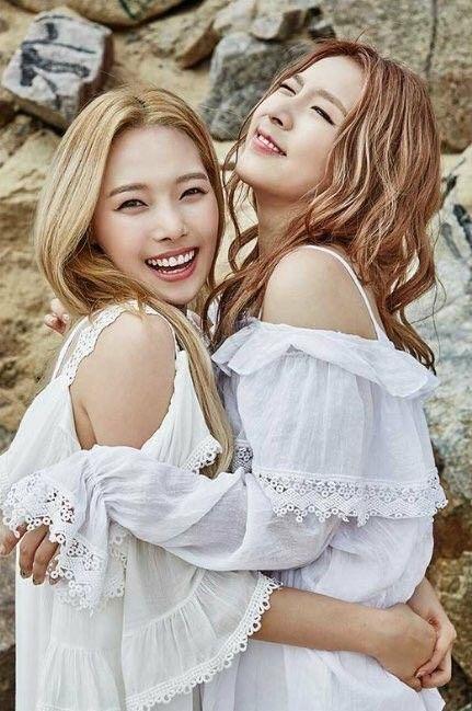 K.A.R.D Jiwoo and Somin