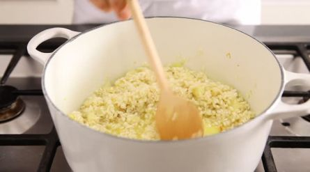 Romige truffelrisotto met een zachtgekookt ei - Recept - Allerhande - Albert Heijn