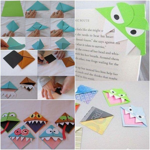 Diy Book Marks: 17 Best Ideas About Monster Bookmark On Pinterest