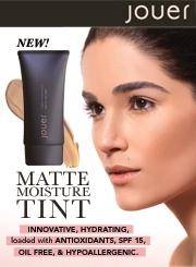 Jouer's Matte Moisture Tint - tinted moisturizer in a beautiful, lightweight, matte formula.