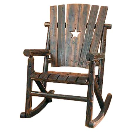 star rocking chair