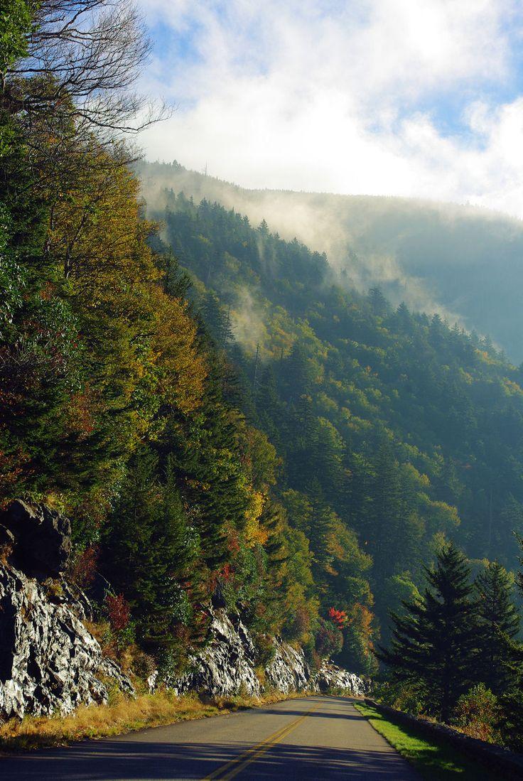 Los paisajes montañosos de Carolina del Norte maravillan a los conductores que por allí transitan, por su extensa y variada naturaleza.