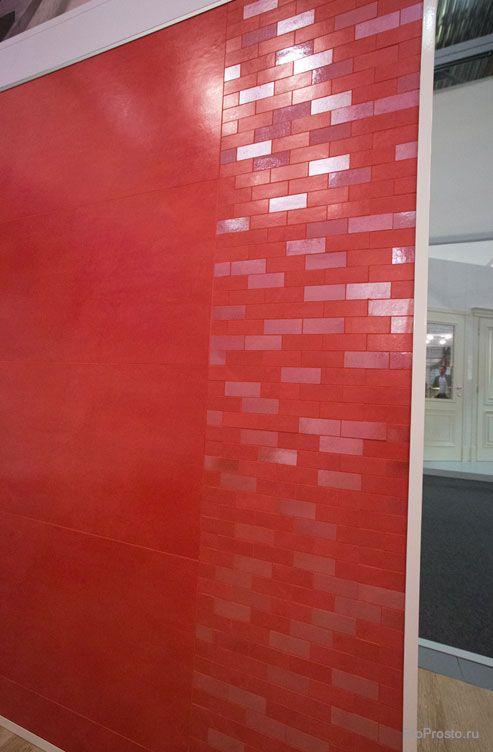 Итальянская плитка на выставке I Saloni Worldwide в Москве