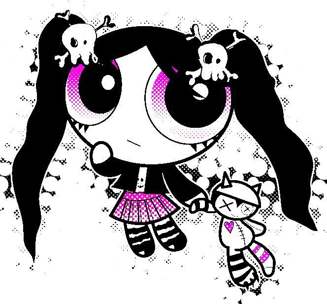 Gothic Brat? (She's one of the Powerpunk Girls.) | Sugar ...