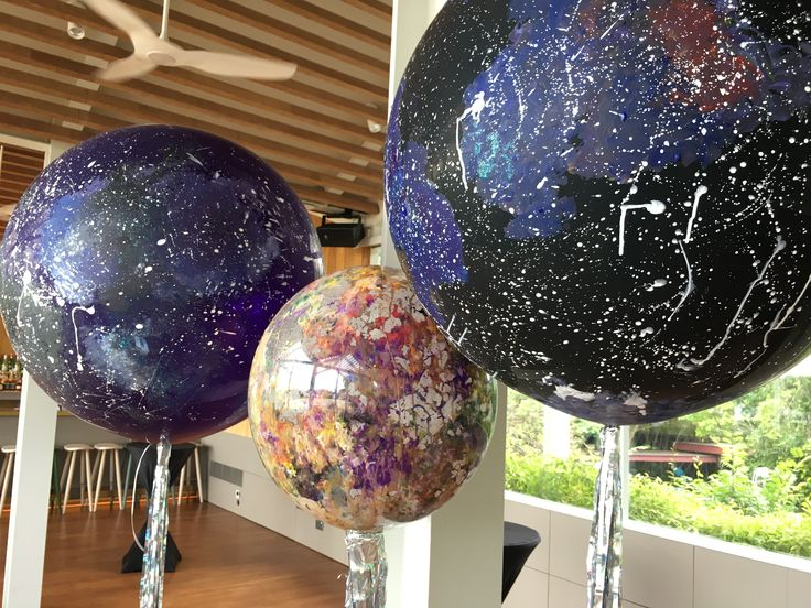 Galaxy balloons #galaxyballoons #galaxyparty #galaxy #art
