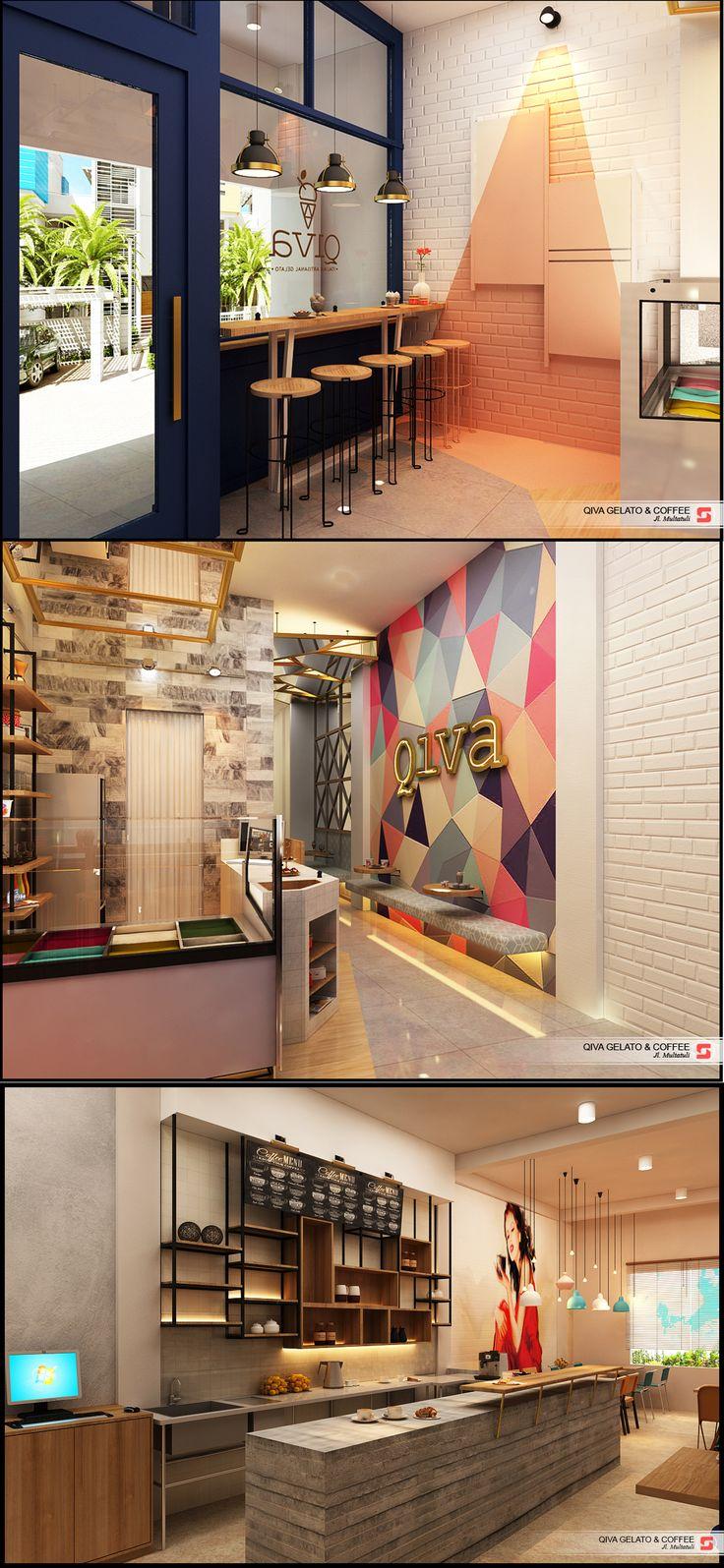 Gelato Cafe & Coffe Shop Medan Indonesia
