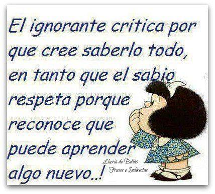 imagenes de mafalda con frases | Frases de Mafalda | segundaplenitud