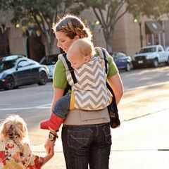 TULA Baby Carriers | Toddler Carriers — Gray Zig Zag - Tula Ergonomic Baby Carrier