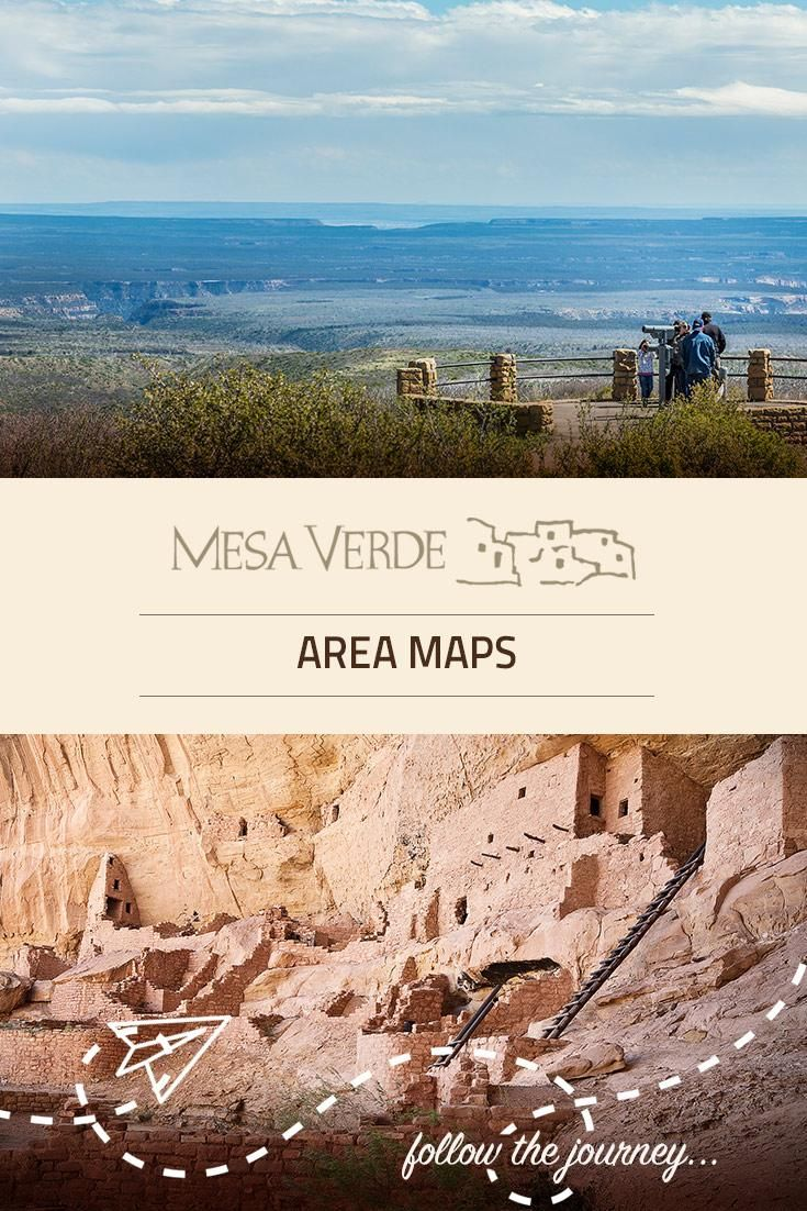 With plenty of area maps we are here to help plan you next trip to Mesa Verde National Park.