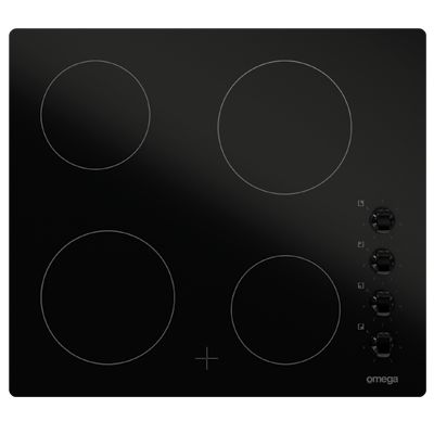 ECO PERFORMANCE - Omega 60cm Electric Cooktopb OC64KZ