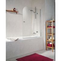 Ecran de baignoire droite, 2 volets, 114 x 140 cm