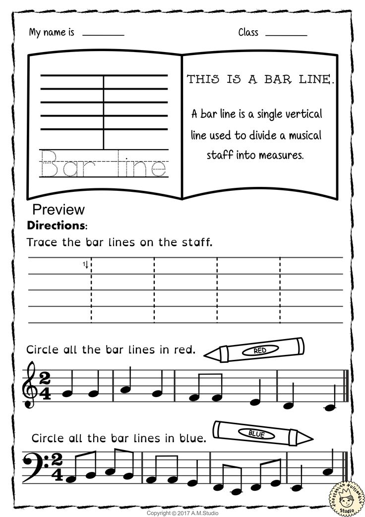 113 best Tracing Music Notes Worksheets images on Pinterest ...