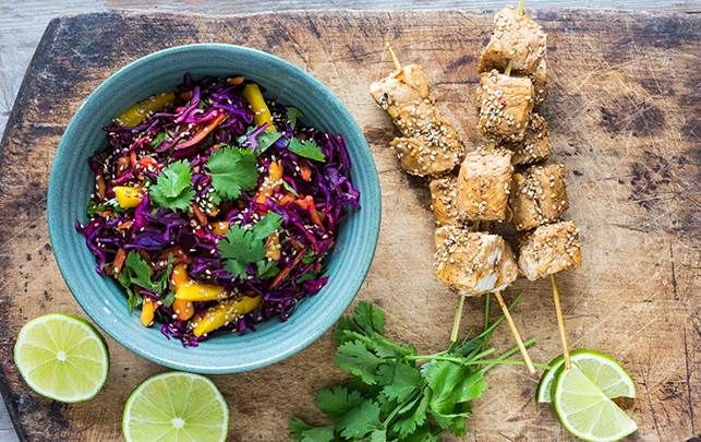 Sprød thaisalat