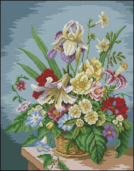Gallery.ru / Фото #26 - цветы схемы есть - vilar2000