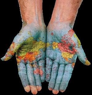 Hands of the world