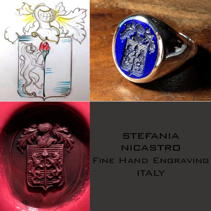 my last creation stefania nicastro,  fine hand engraving