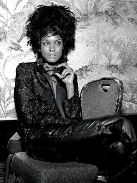 Morning Beauty | Liya Kebede by Richard Burbridge  .. www.fashion.net