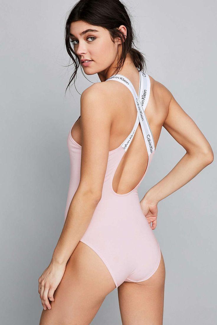 Calvin Klein Modern Cotton Bodysuit - Urban Outfitters