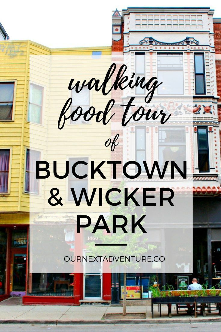 A walking food tour through Chicago's Bucktown and Wicker Park neighborhoods, courtesy of Chicago Food Planet // Family Travel | Where to Eat | Unique Things to Do | Travel with Kids