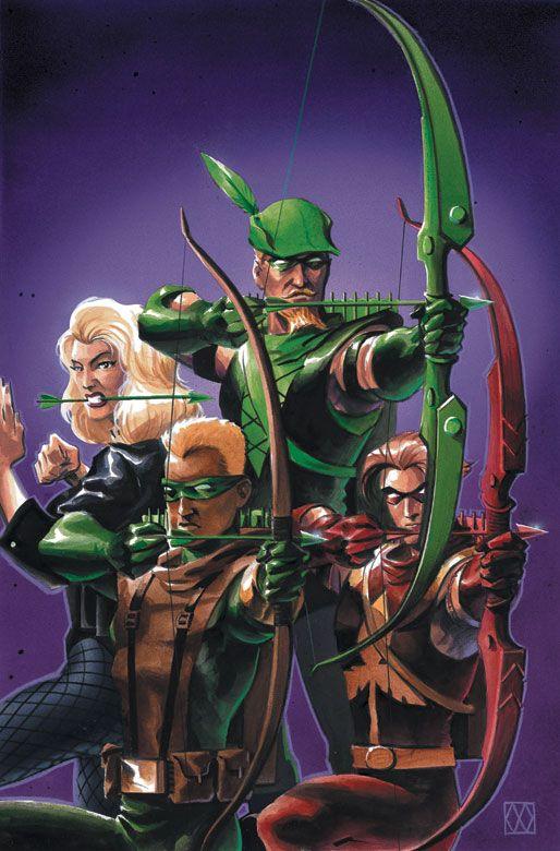 Green Arrow #21 by Matt Wagner