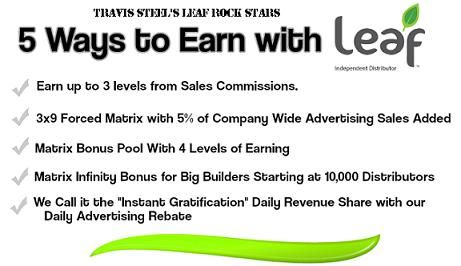 The greatest compensation plan you will likely ever see. Join the leaf rockstars  http://leafrockstars.simplelander.com/
