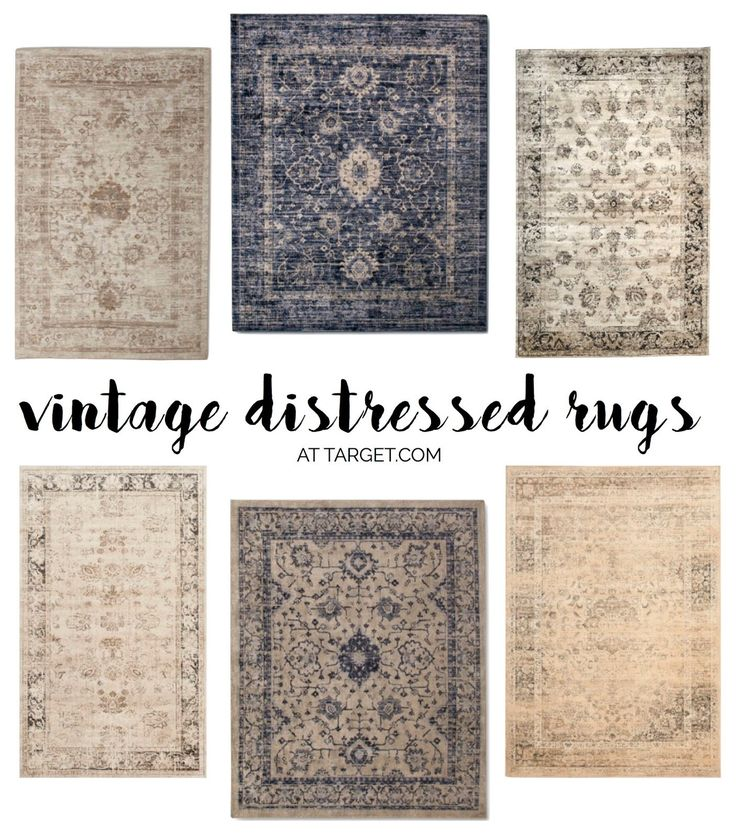 Distressed rugs target pinterest design trends hgtv for Farmhouse style kitchen rugs