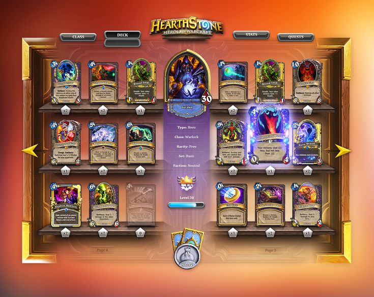 Hearthstone - Deck Builder by Steve Fraschini