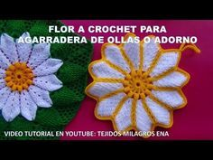colcha a crochet estrella en relieves video 1 - YouTube