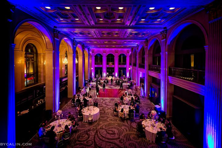 One King West Hotel and Banquet Hall. For more wedding inspiration, visit www.bycalin.com