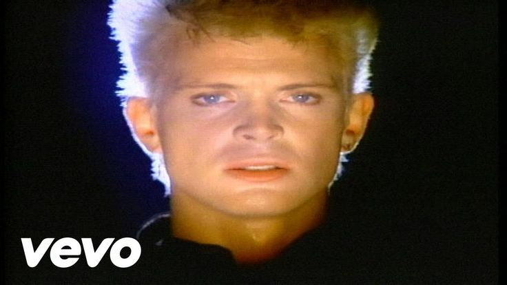 Billy Idol - Eyes Without A Face  I love this track. Because its deep.
