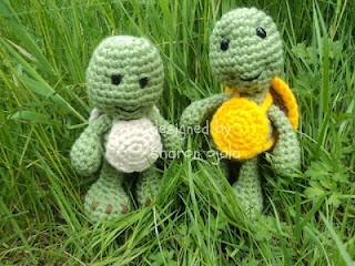 Homemade Obsessions: Little Bigfoot Turtle Free Crochet Turtle Pattern