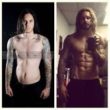Tim Lambesis before and after