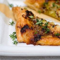 Gorgonzola Honey Leek Tart | YumYums | Pinterest