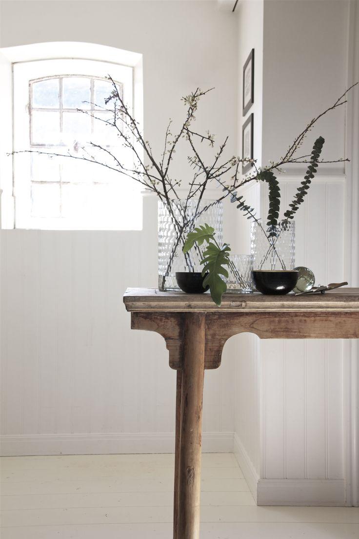 Faceted glass vases - Engen & Engen SS15 - Photo Heidi Hallingstad