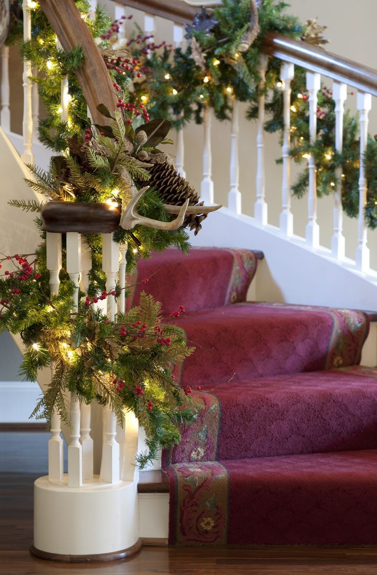 500 best Christmas Stair Decor images by